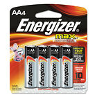 Energizer MAX Alkaline Batteries AA 4 Batteries/Pack E91BP4