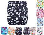 Newborn Baby Cloth Diapers OneSize Reusable Pocket Nappy 1 Insert