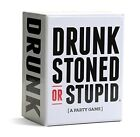 DRUNK STONED STUPID Party Playing Card Game Funny Gag Joke White Elephant Gift
