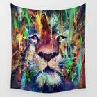 130cm*150cm Lion Fashion Tapestry Colorful Psychedelic Wall Printed Decoration