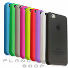COVER CASE VERY FINE SEMI-TRANSPARENT 0.0118in PARA APPLE IPHONE 5C COLOURS