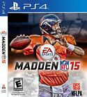 Playstation 4 PS4 Madden NFL 15 Custom #1 *Case* & *Artwork* Reproduction