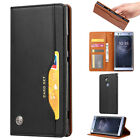 For Sony Xperia XZ3 XA2 Ultra XZ2 L2 Case PU Leather Wallet Card Slot Flip Cover