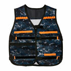 Tactical Vest Jacket For Nerf N-Strike Elite Team Pistol Toys Bullets Holder Ves