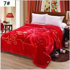 Luxury Heavy Blanket Soft Thicker Warm Bed King Size Double Flannel Blanket H974