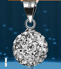 Fashion Necklace Pendant Women's  terling Chain Crystal Rhinestone
