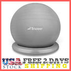 Backless Balance Ball Chair – Exercise Stability Yoga Ball Flexible Seating New