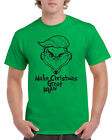 Grinch Make Christmas Great Again Donald Trump Ironic Funny Xmas T-Shirt