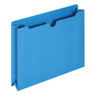 Globe-Weis/Pendaflex File Jackets, 2-Inch Expansion, Letter Size, Blue, 50 per