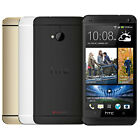 Unlocked Htc One M7 4.7'' Android 4g Smartphone 32gb Gps Blue Gold Silver Black