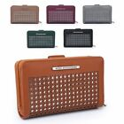 Ladies Fx Leather Laser Cut Purse Girls Fashion Wallet Handbag Clutch M5009-362