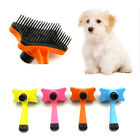 Cat Dog Chic Hair Brush Puppy Comb Grooming Comb Self-cleaning  Pet Supplies 1PC