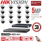 HIKVISION 5MP CCTV NVR IP SYSTEM 4K 4CH 8CH 16CH HD OUTDOOR HOME SECURITY KIT