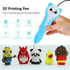 3D Printing Pen 2nd Crafting Doodle Drawing Arts Printer PLA Modeling Kids Gift