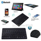 "US Wireless Bluetooth Virtual Keyboard For IOS Android Windows 7""~8.5"" Tablet PC"