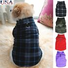 USA Pet Dog Fleece Harness Vest Jumper Sweater Coat for Small Medium Dogs Jacket