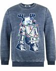 Star Wars R2D2 Decorations Burnout Christmas Sweatshirt $40.99 CAD on eBay