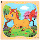 Toy Natural Wood 3D Puzzle Jigsaw Animal-Traffic Puzzles Wooden Cartoon Jigsaw
