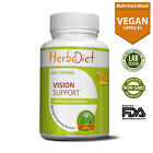 Vision Support Supplement Complex for EYE Health with Lutein Bilberry Lycopene $9.99 USD on eBay