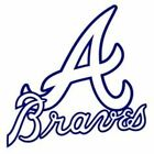 Atlanta Braves Baseball Team Vinyl Logo on Ebay