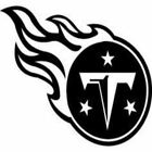 Tennessee Titans Football Team Vinyl Logo Sports Free shipping $4.99 USD on eBay
