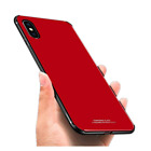 Luhuanx Case iPhoe X,XS Glass iPhone X, XS,Tempered Back Cover + TPU Frame...