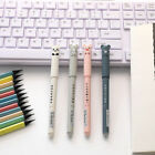 4pcs 0.35mm Cute Cartoon Gel Pens Blue/Black Ink Writing Pens Kawaii Stationery