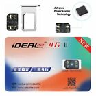 iDeal 2 Perfect Unlock Turbo Sim Card for iPhone X 8 7 6S 6 Plus 5S SE 5 LTE
