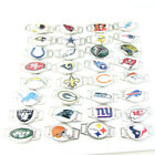 5pcs NFL Sport Football Team Charms Leather Paracord Woven Rope Bracelet Bangle $3.2 USD on eBay