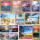 Внешний вид - Seaside Full Drill DIY 5D Diamond Painting Embroidery Beach Cross Stitch Kits
