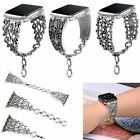Watch Band Vintage Chain Jewelry Bracelet Strap For Apple Watch Series 2 3 4 5 image