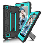 For Amazon Kindle Fire HD 7/8 2017 7th Gen Shockproof Kickstand Armor Case Cover