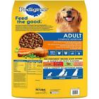 New Pedigree Adult Dry Dog Food Roasted Chicken Rice  Vegetable Flavor