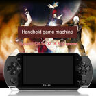 Portable PSP Handheld Game Console 4.3 32bit 8GB 10000 Games Built-In Camera R