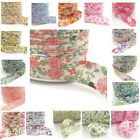 20mm BIAS BINDING PATTERNED COLOURS COTTON TAPE BUNTING TRIMMING EDGING HEM UK