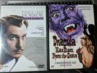 Lot ~ 3 DVDs HORROR CLASSICS Christopher Lee & Vincent Price 8 Movies! HTF