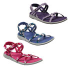 Regatta Santa Monica Womens Sporty Lined Comfy Summer Sandal