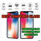4X GENUINE XS XS MAX 6 7 8 TEMPERED GLASS SCREEN PROTECOR FOR SAFETY 2019 STOCK