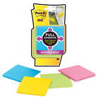 Post-it Full Adhesive Super Sticky Notes, 3 x 3 in, Rio De Janeiro Colors, Pad