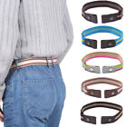 Uckle-Free Elastic Strap  No Buckle Stretch Waist Belt Jean Pants Clothes