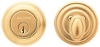 Baldwin Estate 8231.003 Low Profile Traditional Single Cylinder Deadbolt in