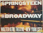 SPRINGSTEEN ON BROADWAY ULTRARARE LITHO-POSTER ONLY SOLD @ LAST 3 SHOWS ONLY 550