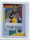 2018 PANINI ROOKIE&STARS AUTO TERRELL EDMUNDS PITTSBURGH STELERS SN #/99