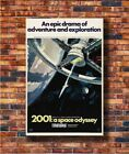 Art Classic Movie 2001 A SPACE ODYSSEY -20x30 24x36in Poster - Hot Gift C591