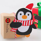 Home Lollipop Christmas Paper Card Chocolate Sticks Decor Package Gift 1 Bag