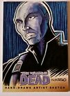 The Walking Dead Sketch Card TYREESE by MARK NASSO Comic Book Series 2