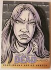 The Walking Dead Sketch Card LORI GRIMES by MARK NASSO Comic Book Series 2