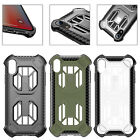 Armor Hybrid Soft TPU Shockproof Back Slim Case Cover For iPhone Xs Mas XR 8/7/6