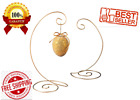 CHRRISTMAS DECORATIONS 13 Inch GOLD Holds Up To 1lb  Large Spiral Bottom Hangers