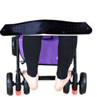 BC77 Plastic Baby Footrest Baby Carriage Pushchair Black Foot Rest Foot Treadle